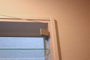 ガラス扉が装着されました