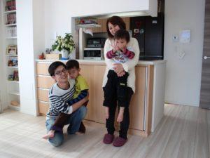 オリジナル家具 カウンター下収納 円山工芸