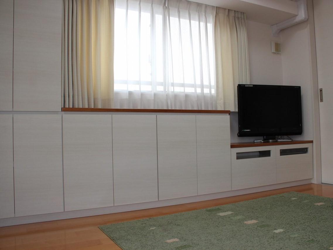 カウンター収納テレビボード