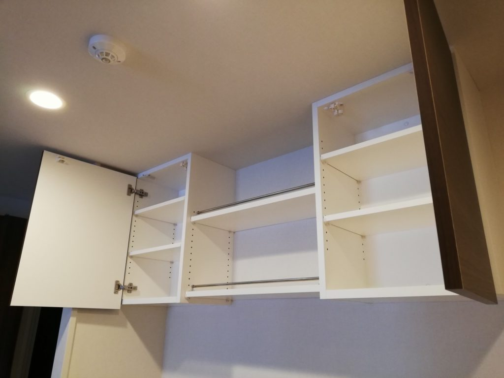 オーダー家具吊戸棚