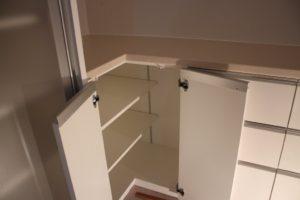キッチンバック収納 製作事例