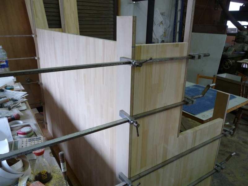 集成材で家具製作